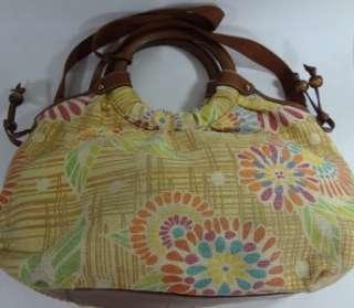 AUTHENTIC Vintage FOSSIL womens LARGE handbag womens Multi Color