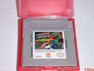 CAPTAIN AMERICA ~Game boy ORIGINAL/Color/GBA/Advance/SP