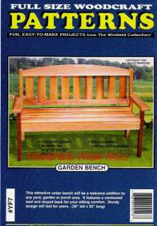 Tree Bench Woodworking Plans by Forrest Street Designs