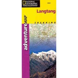 Langtang Adventure Maps, National Geographic Maps Travel & Nature