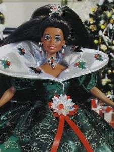 Happy Holiday African American Barbie Doll Dolls 1995