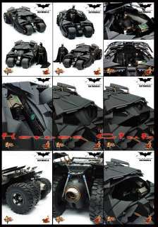 Hot Toys Batmobile + Batman 12 figure set The Dark Knight DX 02 L@@K
