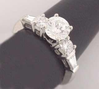 45ct DIAMOND ENGAGEMENT RING ROUND 14K GOLD GIA NEW