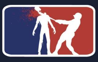 Major League Zombie funny Vinyl Sticker Decal