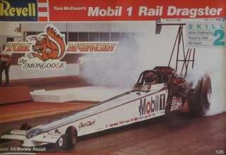 Revell Tom McEwens the Mongoose Mobil 1 Rail Dragster Model Kit