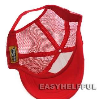 New Super Mario Bros Hat Baseball Cap M Red for Kids & boy Christmas