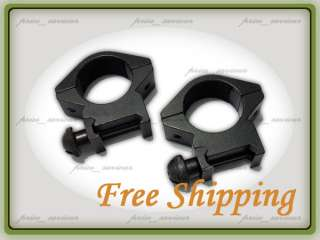 25mm Low Profile Weaver Sight Scope Mount Rings