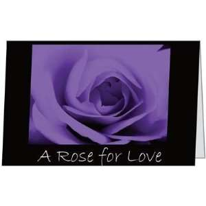 Valentines Day Love Purple Rose Spouse Sweetheart Husband
