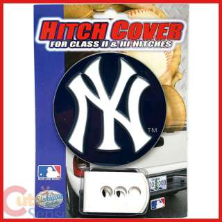 MLB NY Yankees Trailer/Truck Logo Hitch Cover  Metal