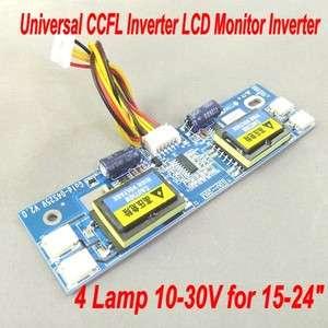 Universal CCFL Inverter LCD Monitor Inverter 10 28V 4 Lamp