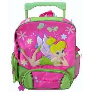 Disney Tinker Bell Rolling Backpack (Kids Size) Toys & Games