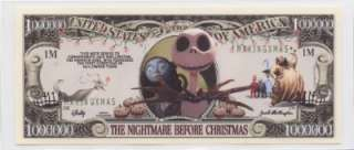 NIGHTMARE BEFORE CHRISTMAS * DISNEY DOLLAR * LT EDITION