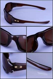 New OAKLEY FIVES SQUARED Rootbeer Dark Bronz Sunglasses 03 442
