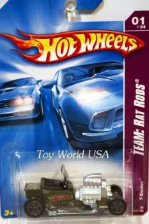 2008 Hot Wheels Rat Rods #125 T Bucket