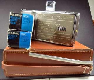 Vintage Polaroid Land Camera J66 Instant Film Camera with Case