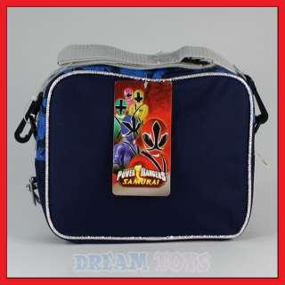 Power Rangers Samurai Sentai Insulated Lunch Bag Box