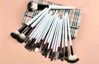 20 Piece Professional Makeup Cosmetic Brush Set Kit with Case Make Up