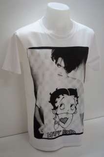The Cure Robert Smith Betty Boop Goth Rock T Shirt L