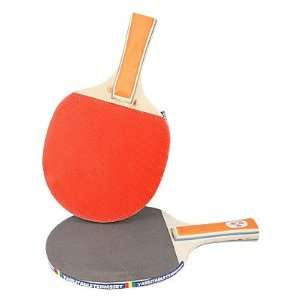 Como Gray Red Ping Pong Penhold Paddle Table Tennis Racket