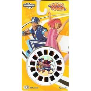 View Master Lazy Town Reel Set 3D reels Lazytown Toys & Games