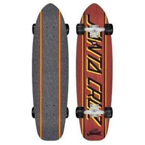 Santa Cruz Jammer Big Strip Longboard Skateboard 8.9 x 35