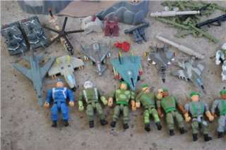 Galoob Micro Machines LGTI Military Army Toys Figures Playsets