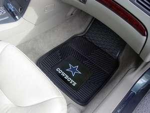 Dallas Cowboys 2 Pc Vinyl Car & Truck Front Floor Mats 18x27