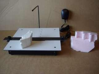 hot wire table foam cutter plug in & cut polystyrene  depron new